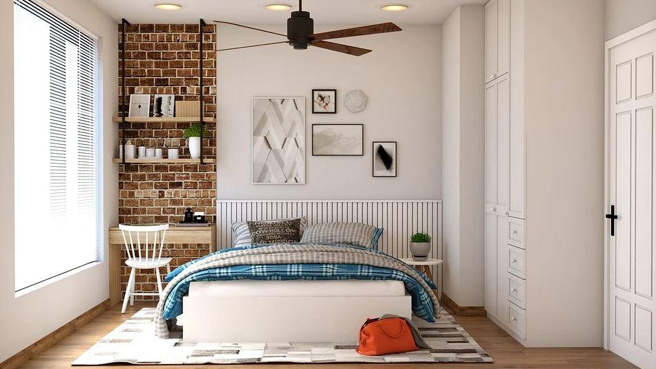 bílá ložnice