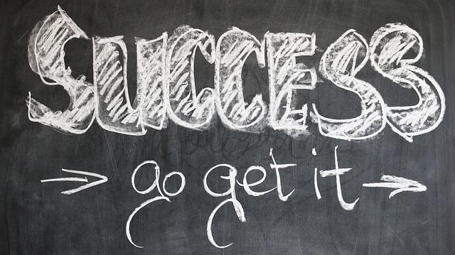 jít za úspěchem