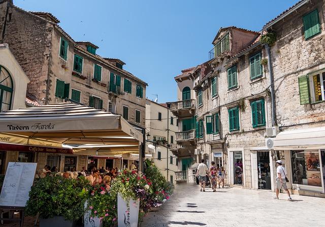 domy ve Splitu