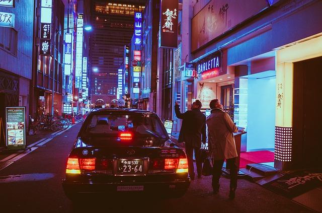 noční život Japonska